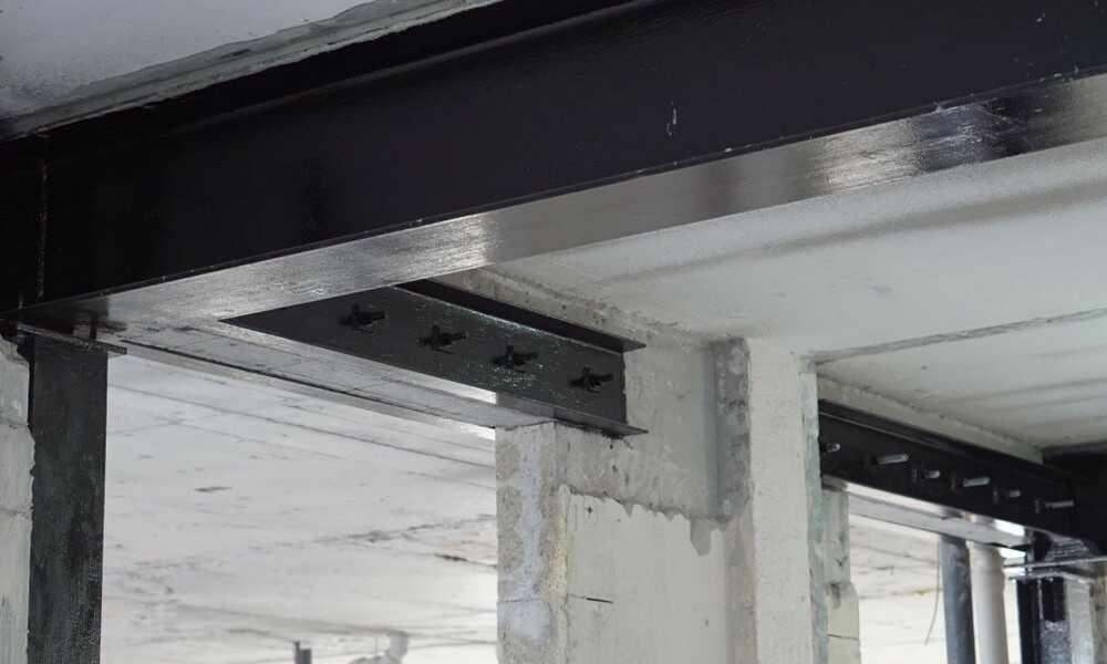 Усиление железобетонных конструкций, бетона в Москве