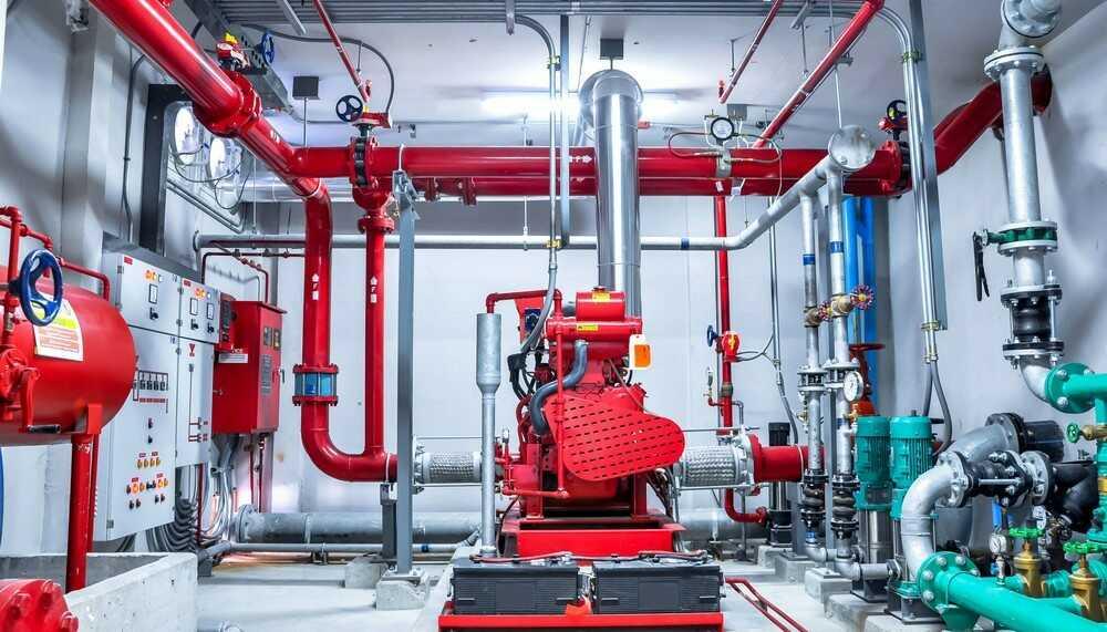 Автоматические системы пожаротушения. Проектирование, установка АУП в Москве